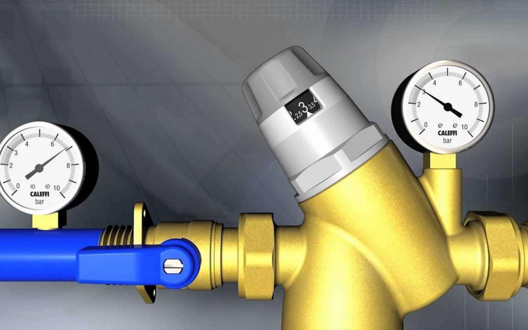 Quelles sont les causes de la basse pression d'eau dans une maison?